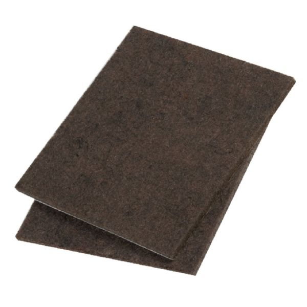 FIELTRO MARRON 100x100mm