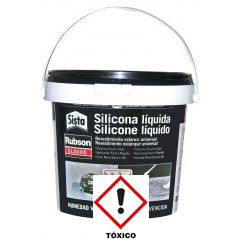 SILICONA LIQUIDA SL 3000 1Kg GRIS